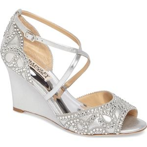 Badgley Mischka Winter Wedge